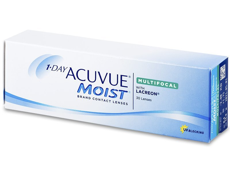 1 Day Acuvue Moist Multifocal (30 lenti) - Toric contact lenses