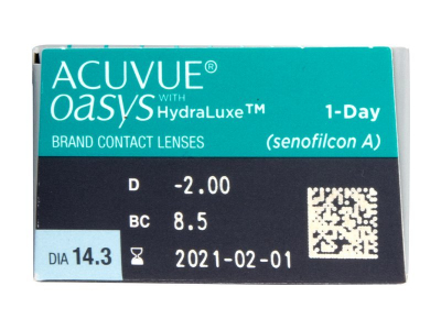 Acuvue Oasys 1-Day (30 lenti) - Attributes preview