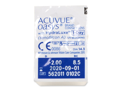 Acuvue Oasys 1-Day (90 lenti) - Blister pack preview