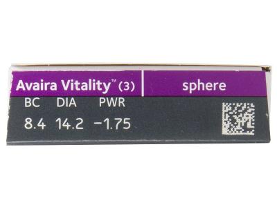 Avaira Vitality (3 lenti) - Attributes preview