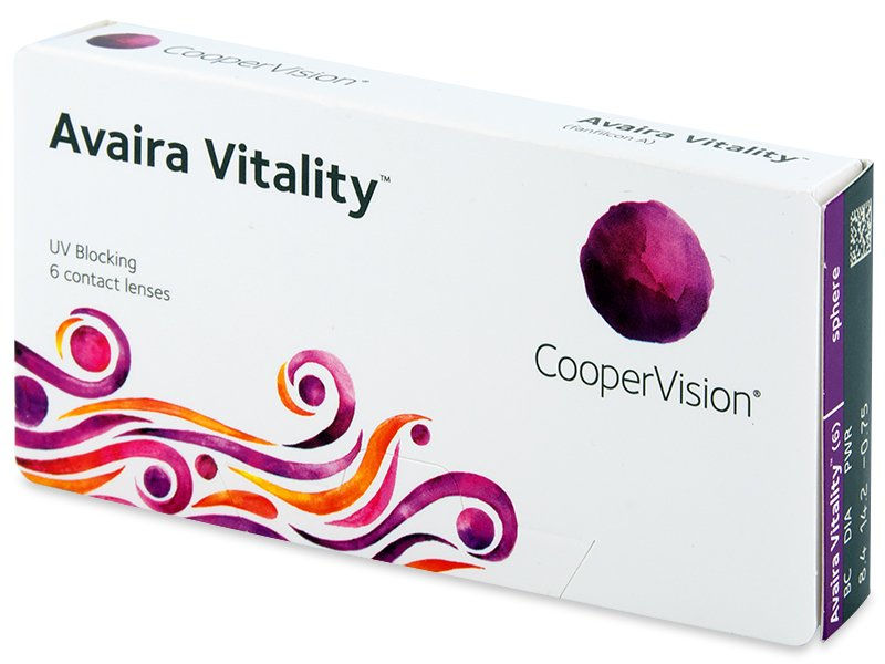 Contact lenses - Avaira Vitality (6 lenti)