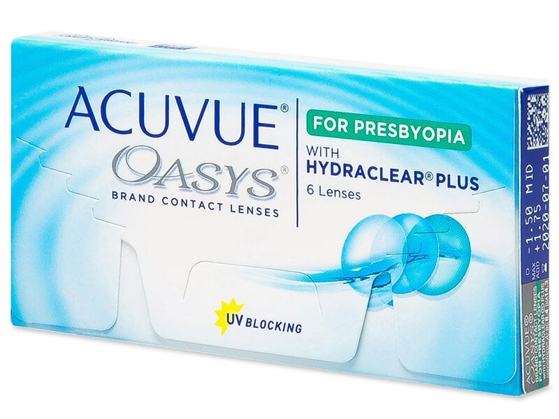 Acuvue Oasys for Presbyopia (6 lenti) - Multifocal contact lenses