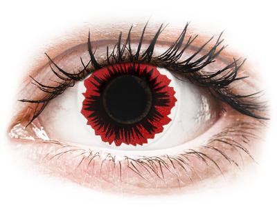 ColourVUE Crazy Lens – Blaze – non correttive (2lenti) (2 lenses)