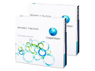 Biomedics 1 Day Extra (180lenti)