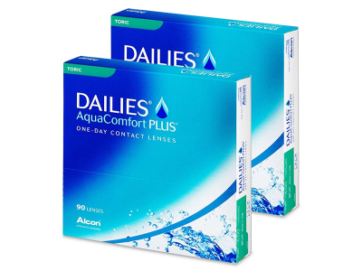 Dailies AquaComfort Plus Toric (180lenti)