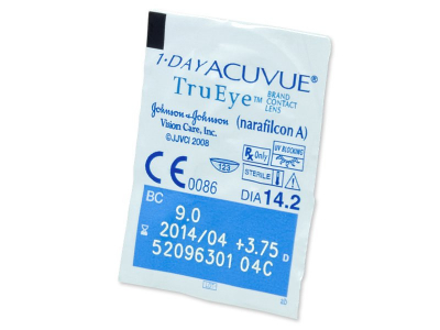 1 Day Acuvue TruEye (90lenti) - Blister pack preview