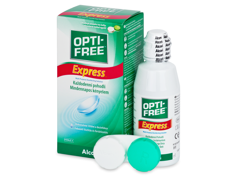 Soluzione OPTI-FREE Express 120 ml  - Cleaning solution