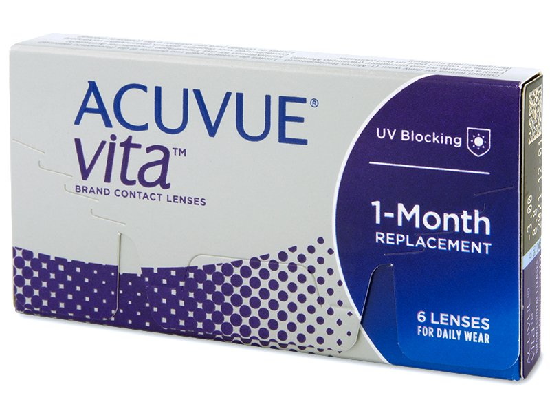 Acuvue Vita (6 lenti) - Monthly contact lenses