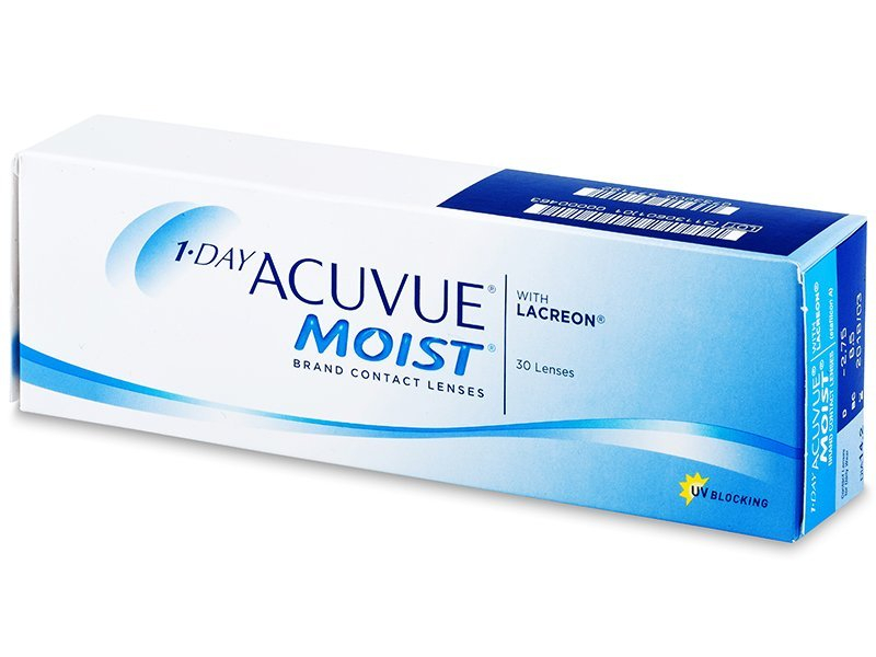 Daily contact lenses - 1 Day Acuvue Moist (30 lenti)