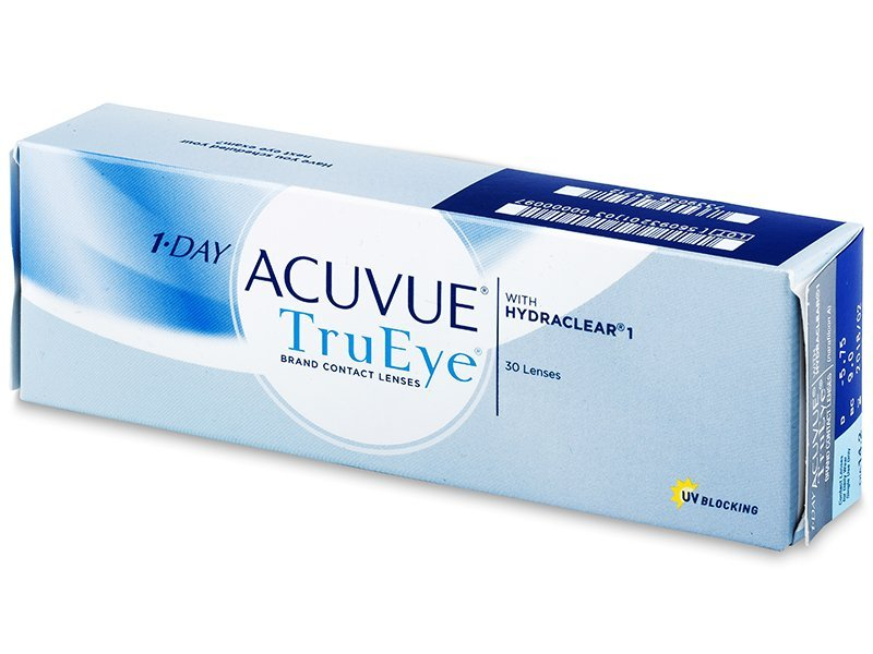 1 Day Acuvue TruEye (30 lenti) - Daily contact lenses