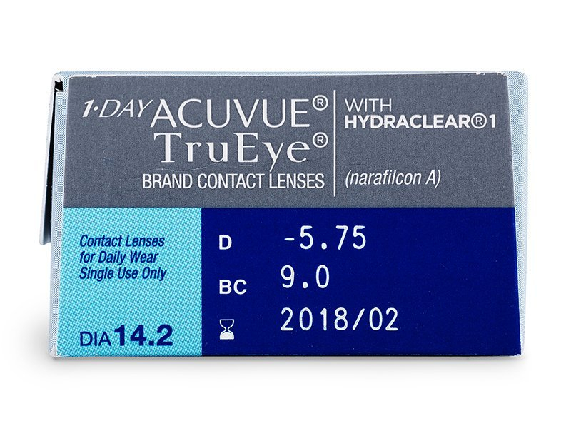 1 Day Acuvue TruEye (30 lenti) - Attributes preview
