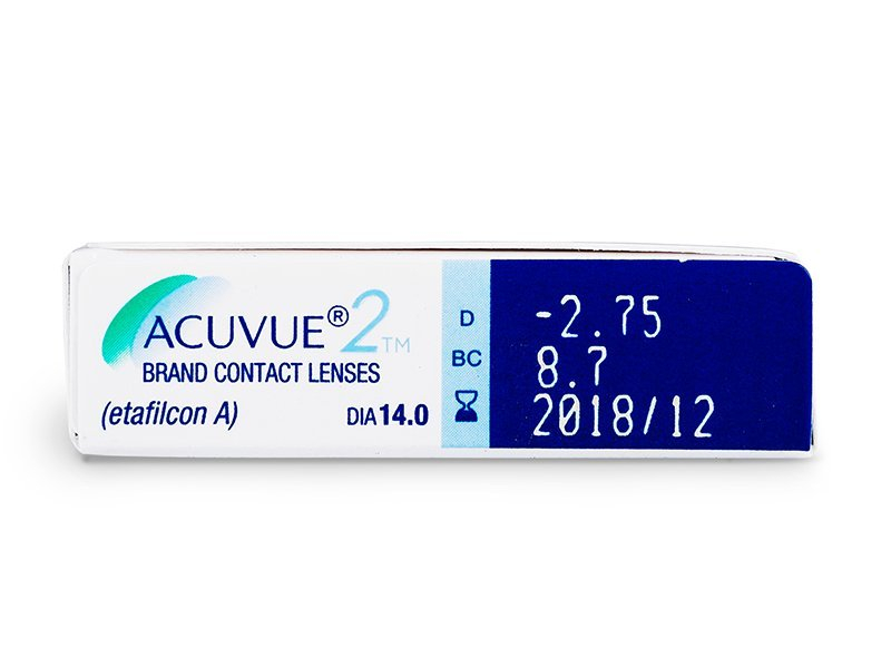 Attributes preview - Acuvue 2 (6 lenti)
