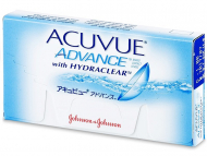 Lenti a contatto - Acuvue Advance (6 lenti)