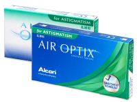 Air Optix for Astigmatism (3lenti) - Toric contact lenses