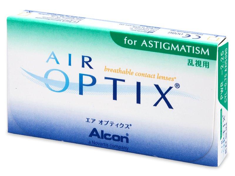 Previous design - Air Optix for Astigmatism (3lenti)