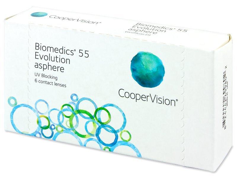 Biomedics 55 Evolution (6lenti) - Monthly contact lenses