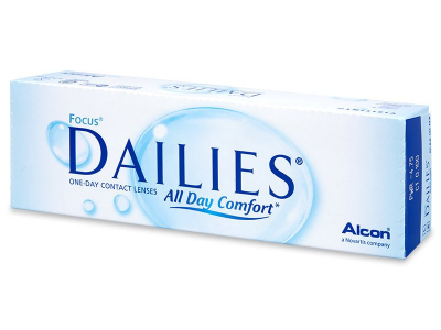 Focus Dailies All Day Comfort (30 lenti) - Daily contact lenses