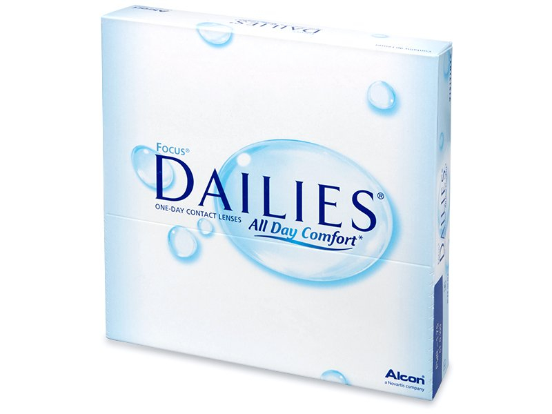 Focus Dailies All Day Comfort (90 lenti) - Daily contact lenses