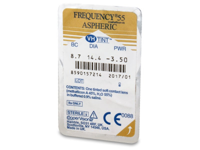 Frequency 55 Aspheric (6lenti) - Blister pack preview