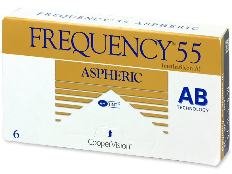 Frequency 55 Aspheric (6lenti) - Monthly contact lenses