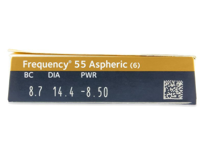 Frequency 55 Aspheric (6lenti) - Attributes preview