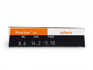 Proclear Compatibles Sphere (6 lenti) - Attributes preview