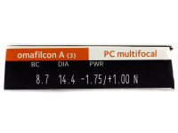 Proclear Multifocal (3 lenti) - Attributes preview