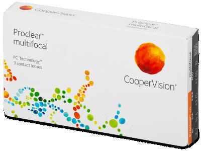 Proclear Multifocal (3 lenti) - Multifocal contact lenses