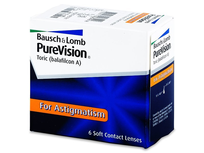 PureVision Toric (6 lenti) - Toric contact lenses
