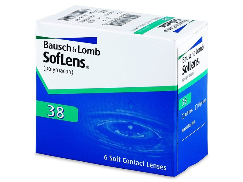 SofLens 38 (6 lenti) - Monthly contact lenses