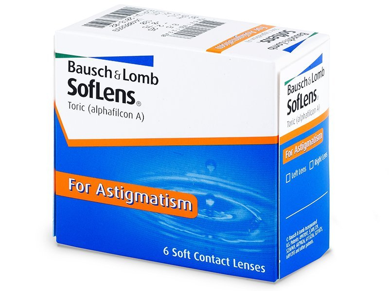 SofLens Toric (6 lenti) - Toric contact lenses