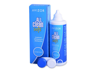 Soluzione Avizor All Clean Soft 350 ml  - Cleaning solution