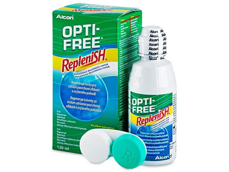 Soluzione OPTI-FREE RepleniSH 120 ml  - Cleaning solution