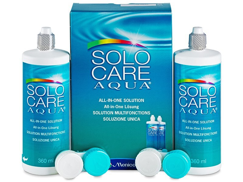 Soluzione SoloCare Aqua 2 x 360ml  - Economy duo pack - solution