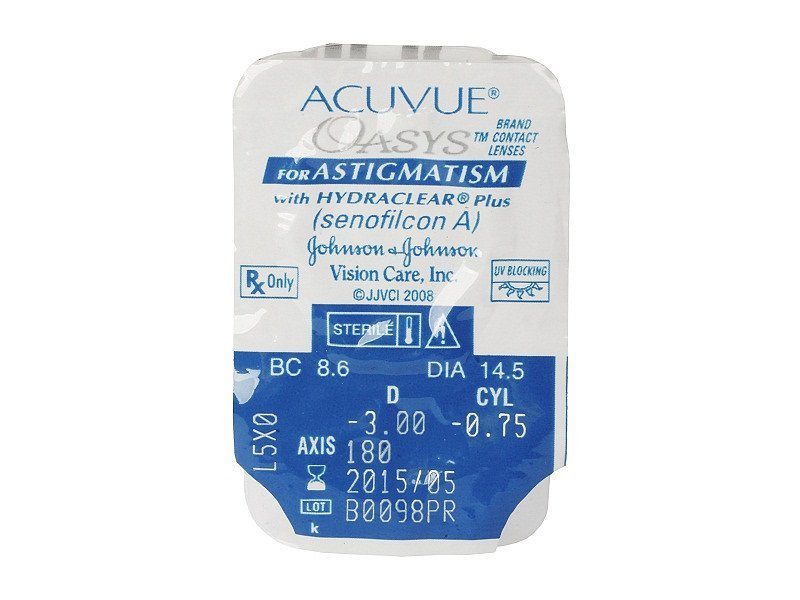 Blister pack preview - Acuvue Oasys for Astigmatism (6 lenti)