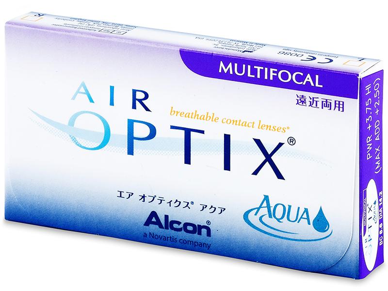 Air Optix Aqua Multifocal (3lenti) - Previous design