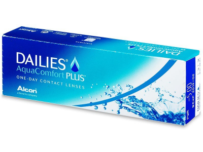Dailies AquaComfort Plus (30 lenti) - Daily contact lenses