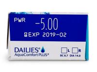 Dailies AquaComfort Plus (30 lenti) - Attributes preview