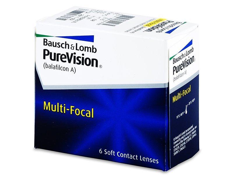 PureVision Multi-Focal (6lenti) - Multifocal contact lenses