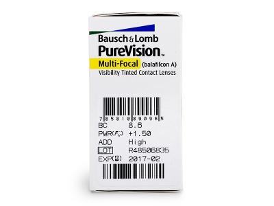 PureVision Multi-Focal (6lenti) - Attributes preview