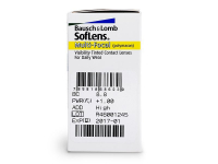 SofLens Multi-Focal (6 lenti) - Attributes preview