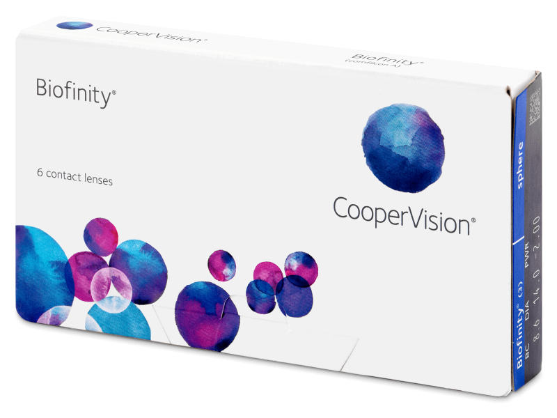 Biofinity (6 lenti) - Monthly contact lenses