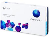 Biofinity (6 lenti) - Monthly contact lenses