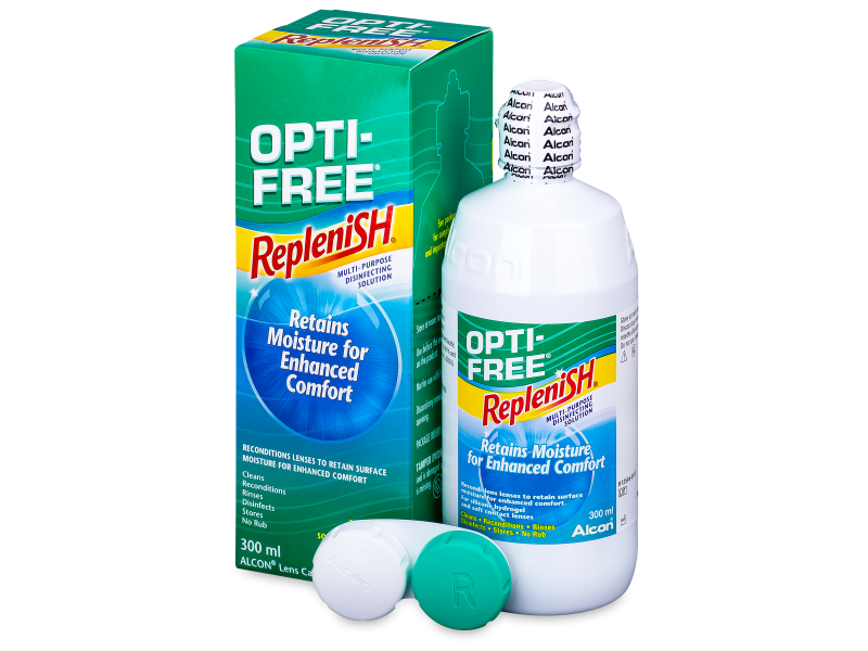 Soluzione OPTI-FREE RepleniSH 300 ml  - Cleaning solution