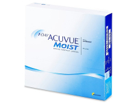 1 Day Acuvue Moist (90 lenti) - Daily contact lenses