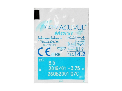1 Day Acuvue Moist (90 lenti) - Blister pack preview