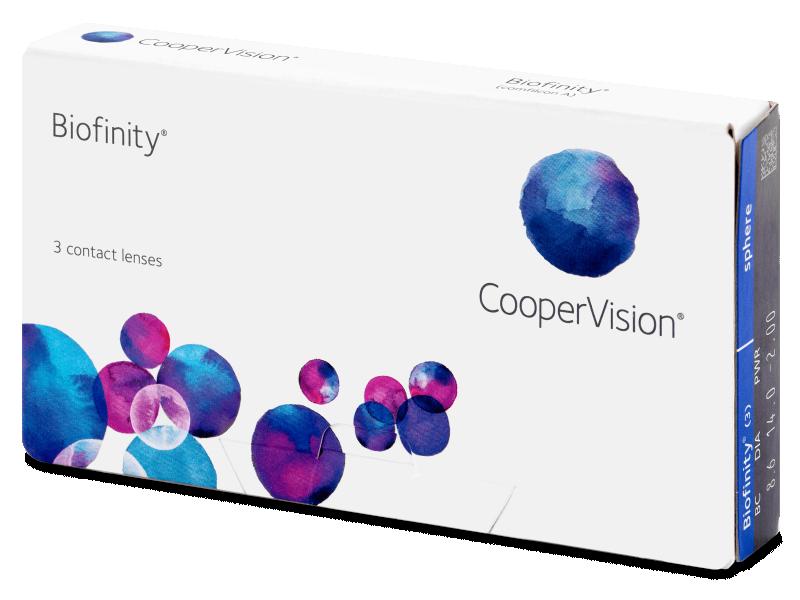 Monthly contact lenses - Biofinity (3 lenti)