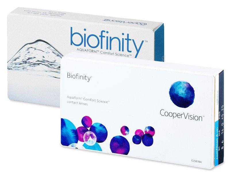 Previous design - Biofinity (3 lenti)