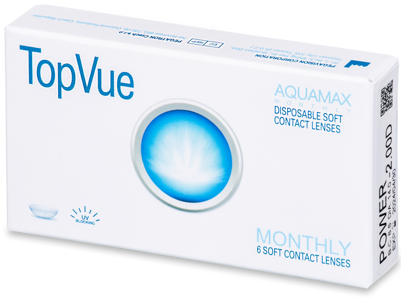 TopVue Monthly (6 lenti) - Monthly contact lenses