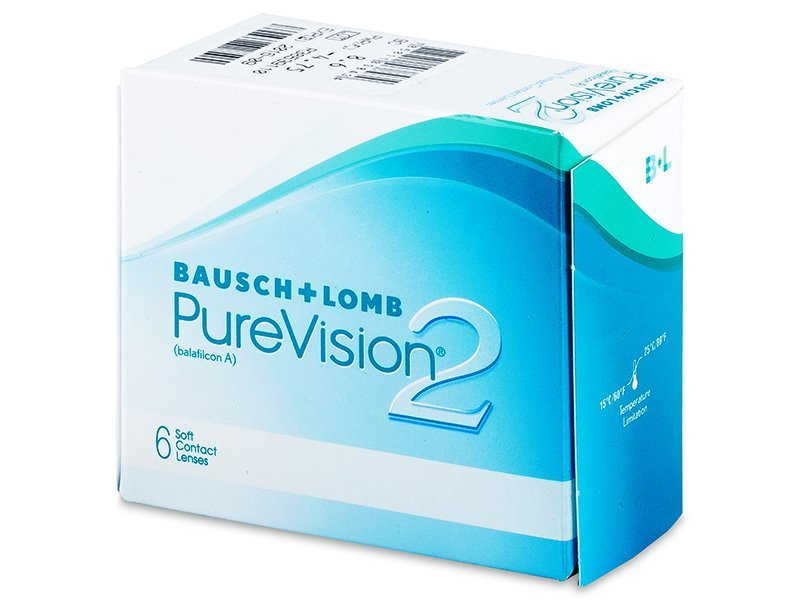 PureVision 2 (6 lenti) - Monthly contact lenses